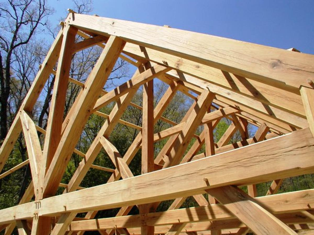 Roof trusses building man supplier for Custom roof trusses